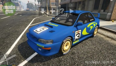 Subaru Impreza WRC 1998 World Rally v1.0 para GTA V 2