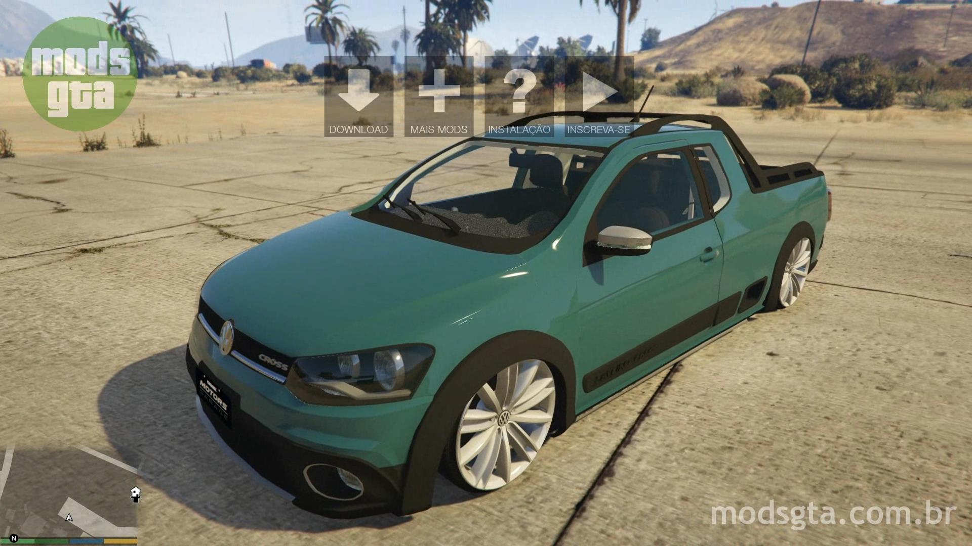 Volkswagen Saveiro G6 Cross Para Gta V Mods Gta